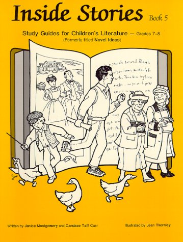 Inside Stories, Book 5 - Study Guides for Children's Literature (0931724538) by Janice Montgomery