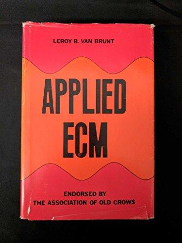 Applied Ecm: Van Brunt, Leroy B.