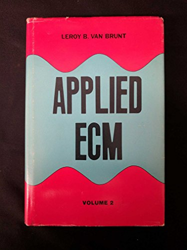 9780931728013: Applied ECM : Volume 2