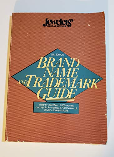 9780931744167: Brand Name and Trademark Guide, Jewelry and Kindred Trades, 1994