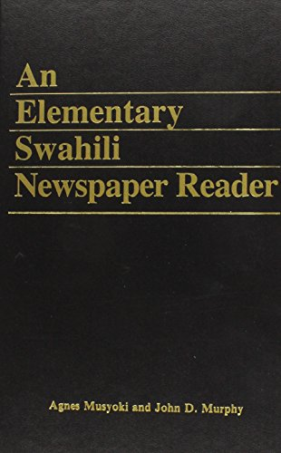9780931745072: An Elementary Swahili Newspaper Reader