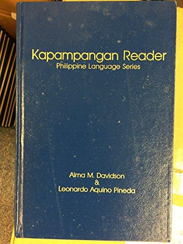 Kapampangan Newspaper Reader: Moguet, Pamela Johnstone; Davidson, Alma M.; Pineda, Leonardo Aquino