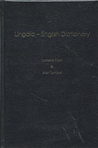 Lingala-English Dictionary: Lumana Pashi, Alan
