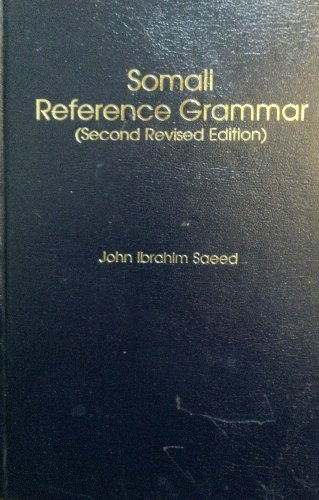9780931745973: Somali Reference Grammar