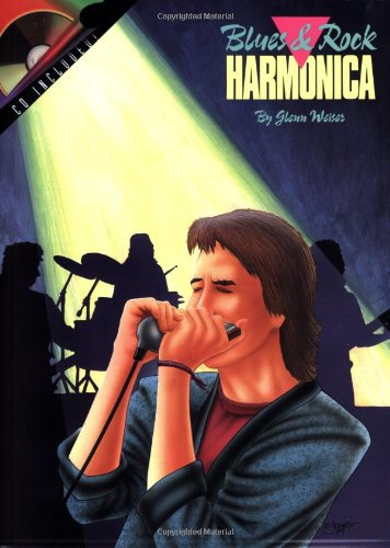 BLUES & ROCK HARMONICA BK/CD: Weiser, Glenn
