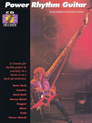 9780931759963: POWER RHYTHM GUITAR CD/PKG CHORDING