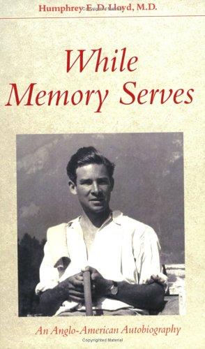 9780931761973: While Memory Serves