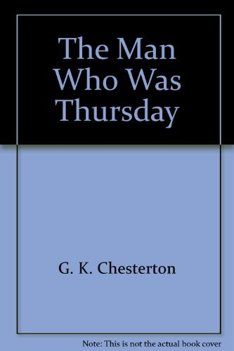 9780931773952: The Man Who Was Thursday