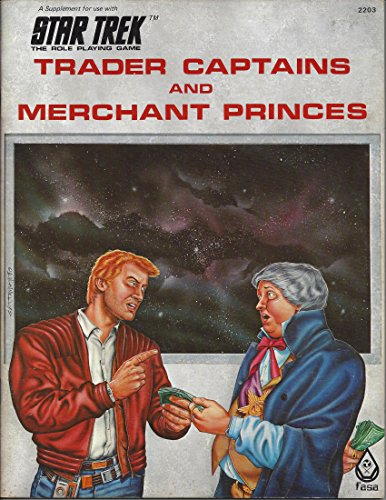 9780931787133: Trader Captains and Merchant Princes (Star Trek: The Roleplaying Game)