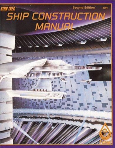 9780931787140: Ship Construction Manual, 2nd Edition (Star Trek RPG)