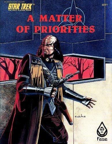 9780931787218: A Matter of Priorities (Star Trek RPG)