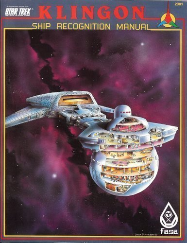 Klingon Ship Recognition Manual 1st Edition (Star