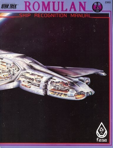 Romulan Ship Recognition Manual (Star Trek RPG): Brown, Forest