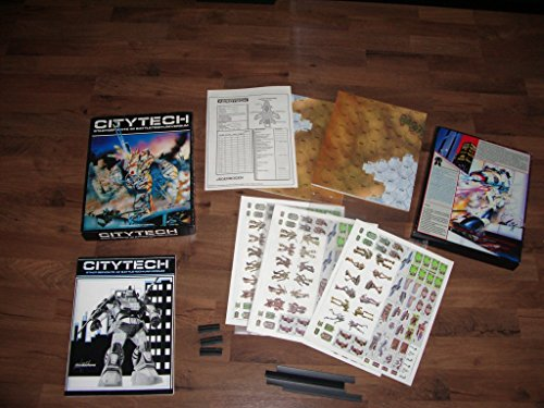 9780931787591: Citytech: The Battletech Game of Urban Combat [BOX SET]