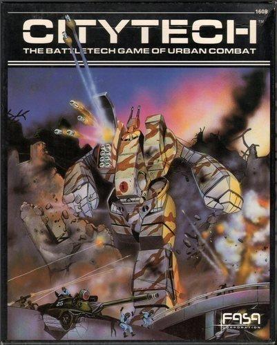9780931787591: Citytech: The Battletech Game of Urban Combat [BOX SET]
