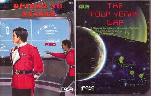 9780931787782: Return to Axanar / The Four Years War (Star Trek RPG) (2 Book Set)