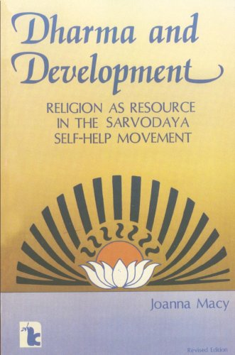 9780931816536: Dharma and Development: Religion as Resource in the Sarvodaya Self-Help Movement