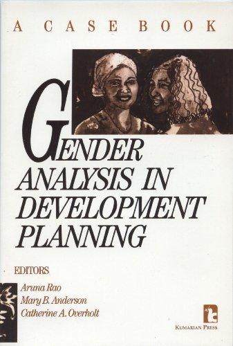 Gender Analysis in Development Planning: A Case
