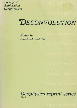 9780931830013: Deconvolution