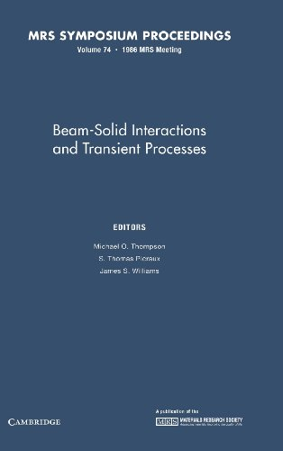 Beam-Solid Interactions and Transient Processes. Materials Research Society Symposia Proceedings, ...
