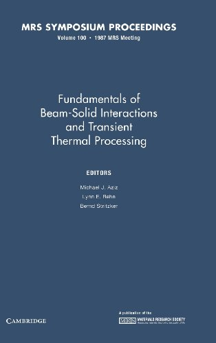 Fundamentals of Beam-Solid Interactions and Transient Thermal: Aziz, Michael J.