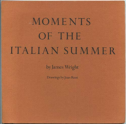 Moments of the Italian Summer: Wright, James