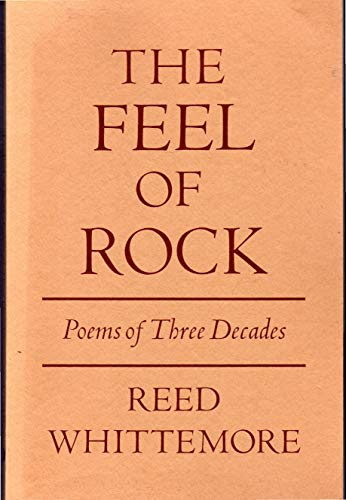 9780931848445: The feel of rock: Poems of three decades