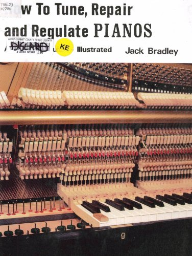 9780931856044: How to Tune, Repair and Regulate Pianos