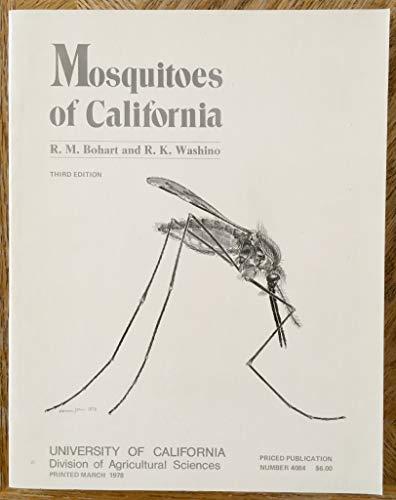 9780931876158: Mosquitoes of California #4084