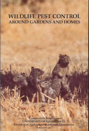 Wildlife Pest Control Around Gardens and Homes (Publication)