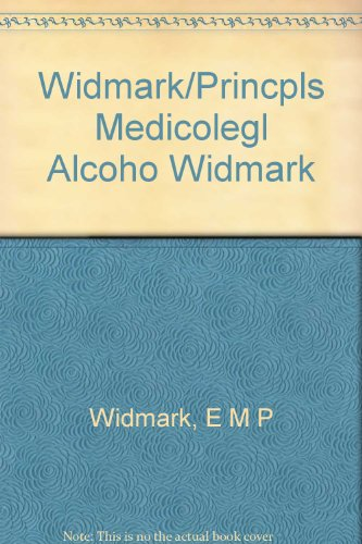 9780931890079: Principles and Applications of Medicolegal Alcohol Determination (English and German Edition)