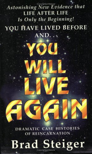 9780931892295: You Will Live Again: Dramatic Case Histories of Reincarnation
