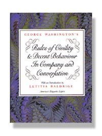 9780931917189: George Washington's Rules of Civility & Decent Behaviour in Company and Conversation