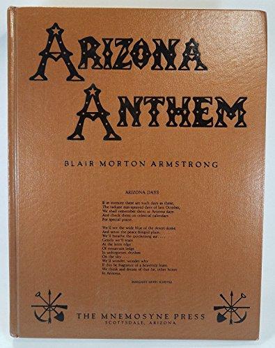 9780931944000: Arizona anthem