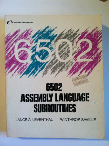 9780931988592: 6502 assembly language subroutines