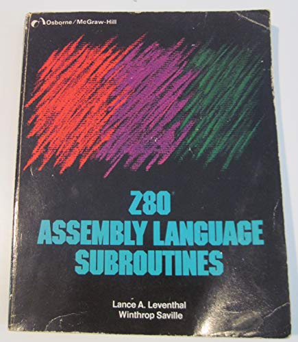 9780931988912: Z80 assembly language subroutines