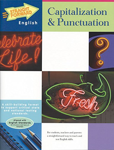 9780931993329: Capitalization & Punctuation (Straight Forward English Series)