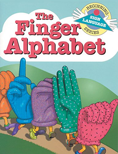 9780931993466: Finger Alphabet Book (GP046) (Beginning Sign Language Series)