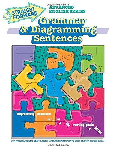 9780931993756: Grammar & Diagramming Sentences (GP075) (Advanced Straight Forward English Series)