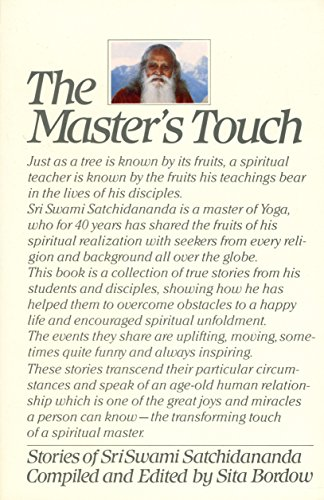Masters Touch: Stories of Stri Swami Satchidananda: Sita Bordow