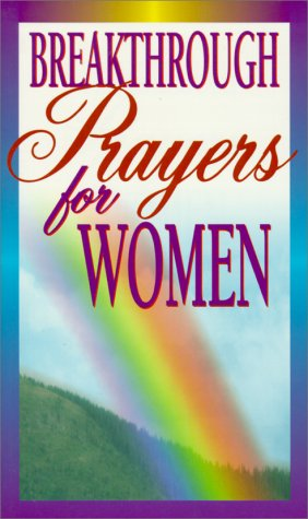 Breakthrough Prayers for Women (0932081703) by Clift Richards