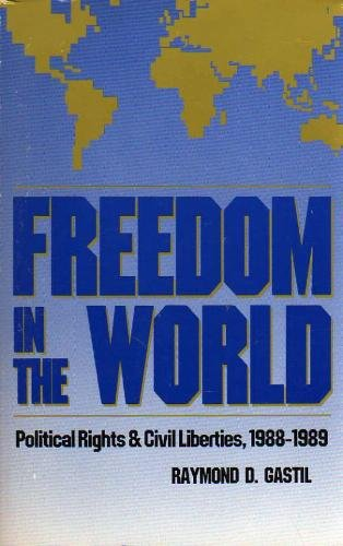 9780932088321: Freedom in the World: Political Rights and Civil Liberties 1988-1989