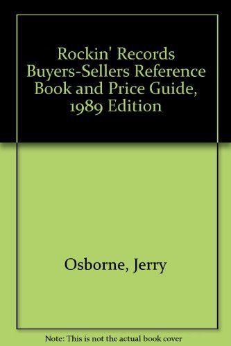 9780932117120: Rockin' Records Buyers-Sellers Reference Book and Price Guide, 1989 Edition