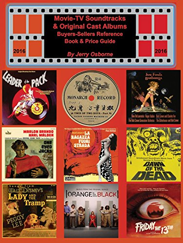 9780932117922: Movie-TV Soundtracks & Original Cast Albums Buyers-Sellers Reference Book & Price Guide 2016 Edition