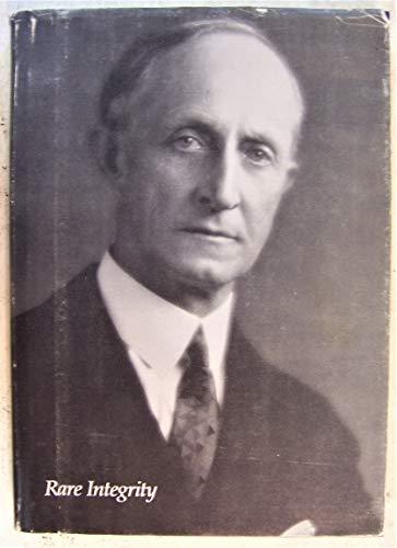 9780932119025: Rare Integrity: A Portrait of L. W. Payne, Jr.