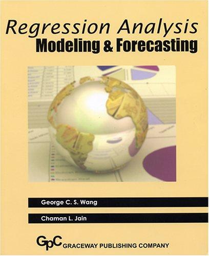 9780932126504: Regression Analysis Modeling & Forecasting
