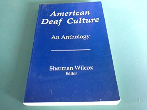 9780932130082: American Deaf Culture: An Anthology