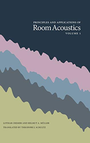 9780932146298: Principles and Applications of Room Acoustics, Volume 1