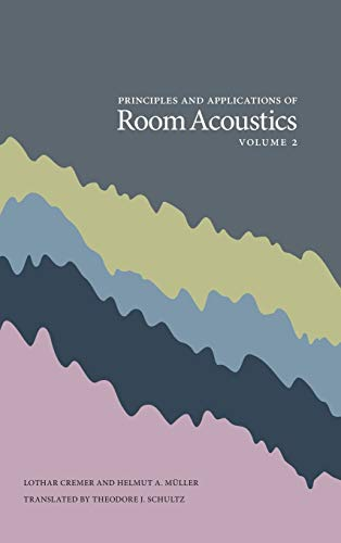 9780932146304: Principles and Applications of Room Acoustics, Volume 2