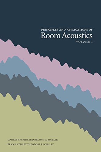 9780932146731: Principles and Applications of Room Acoustics - Volume 1